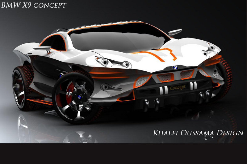 18 Year Old S Bmw X9 Concept Looks About As Angry As Any