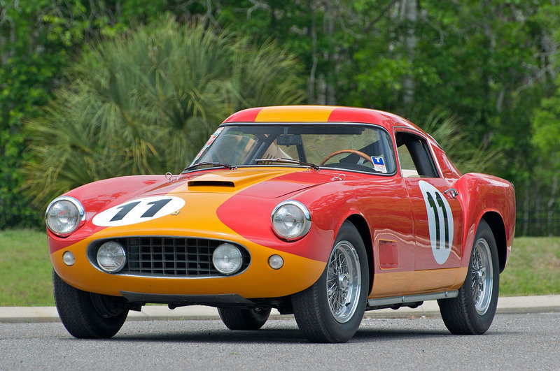 1959 Ferrari 250 GT LWB Tour de France for auction