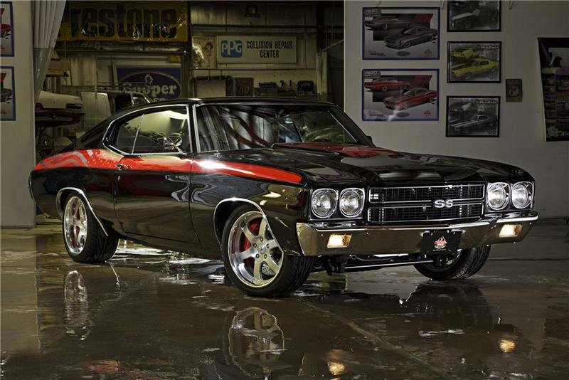 1970 Chevelle SS for auction