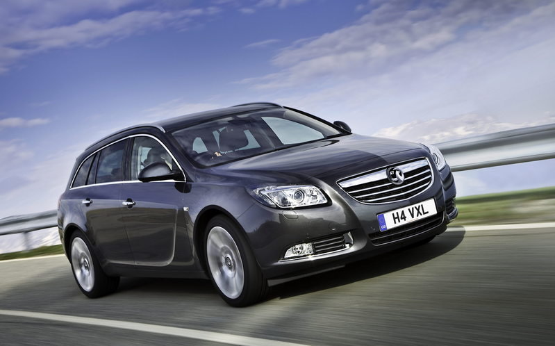 2010 Opel Insignia Sports Tourer. 2010 Vauxhall Insignia Sports