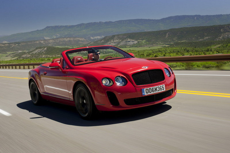 2011 Bentley Continental Supersports Convertible High Resolution Exterior Wallpaper quality - image 367346
