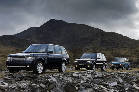 2011 Land Rover Range Rover Nice view