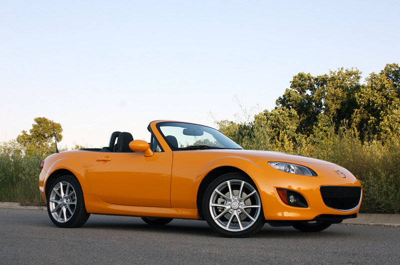 2011 Mazda MX-5 to use rotary power?