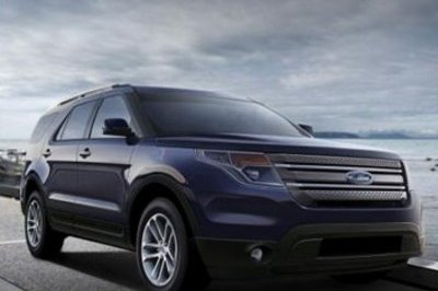 2011 (maybe 2012) Ford Explorer rendered, again