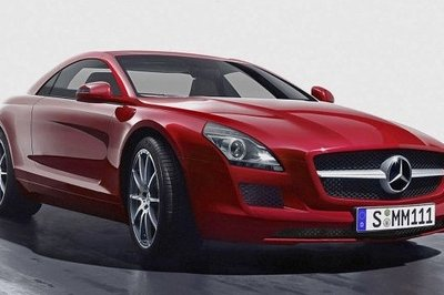2012 Mercedes SLK rendered, again