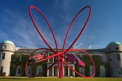 Alfa Romeo takes center lawn at the Goodwood Festival of Speed
