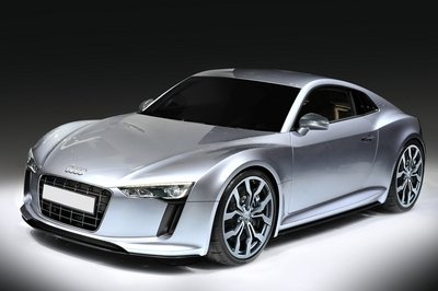 Audi R4 production version rendered