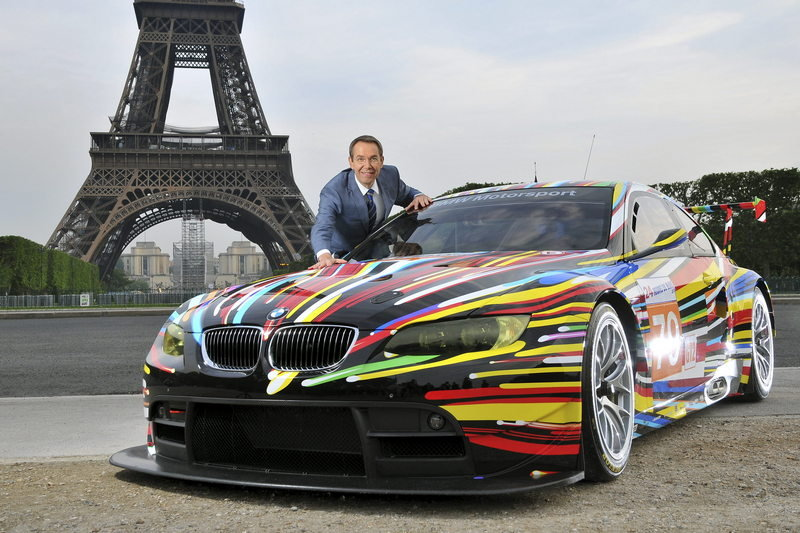 2010 BMW M3 GT2 Art Car High Resolution Exterior - image 364194