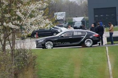 Bugatti 16C Galibier super sedan spotted in France