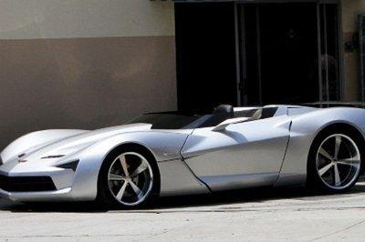 Corvette Stingray Concept Speedster spotted in Beverly Hills