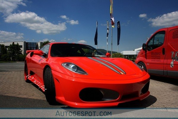 ferrari f430 premier4509 veilside looks great in red picture