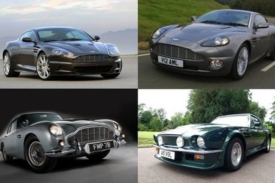 Four James Bond Aston Martins to have reunion at Park Stoke Club