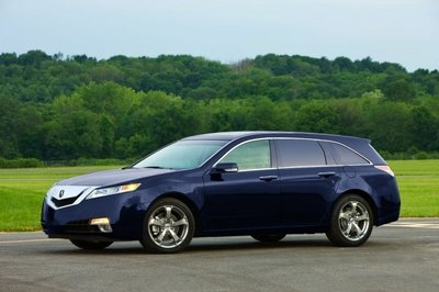 Is this what an Acura TL wagon would look like?