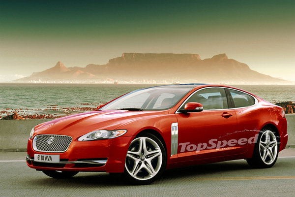 jaguar prepares xf station wagon and coupe versions news top speed. Black Bedroom Furniture Sets. Home Design Ideas