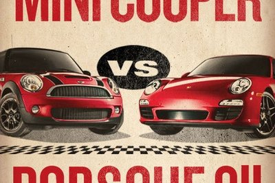 Let's Race!: MINI throws down the gauntlet at Porsche