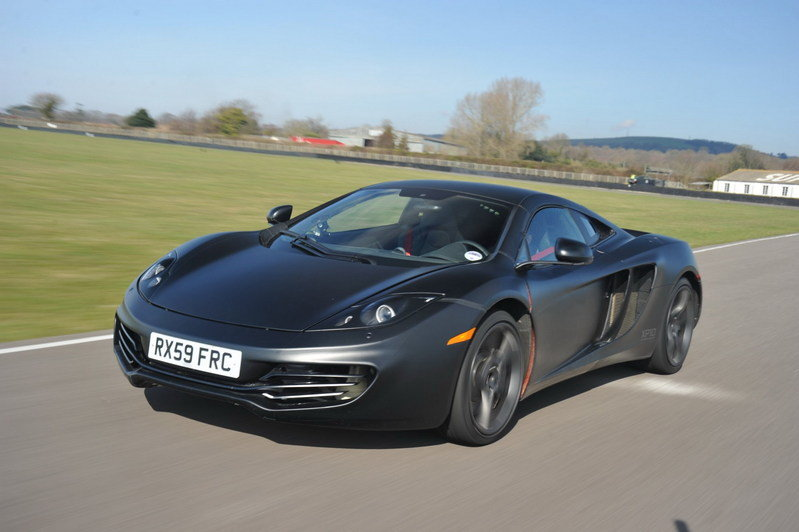 McLaren MP4 12C - UK prices revealed
