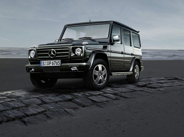 mercedes g-class facelift coming in 2011 picture