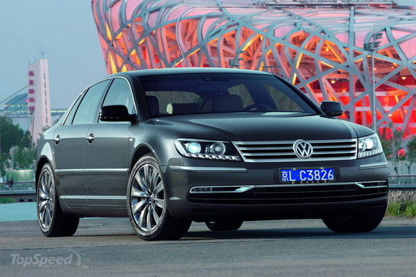 next-generation volkswagen phaeton to be tailor-made for the us and chinese markets picture