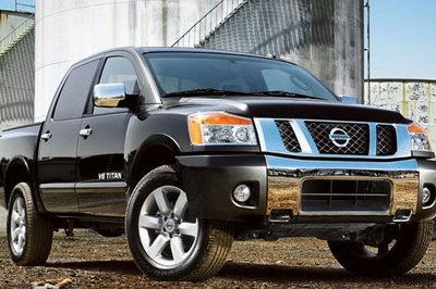 Nissan to upgrade Titan and Frontier for 2011