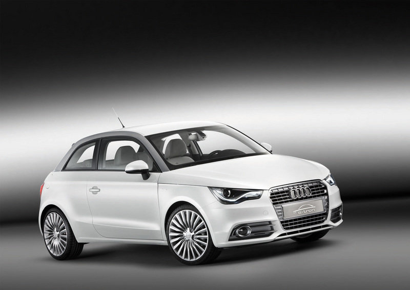 No electric version for the Audi A1