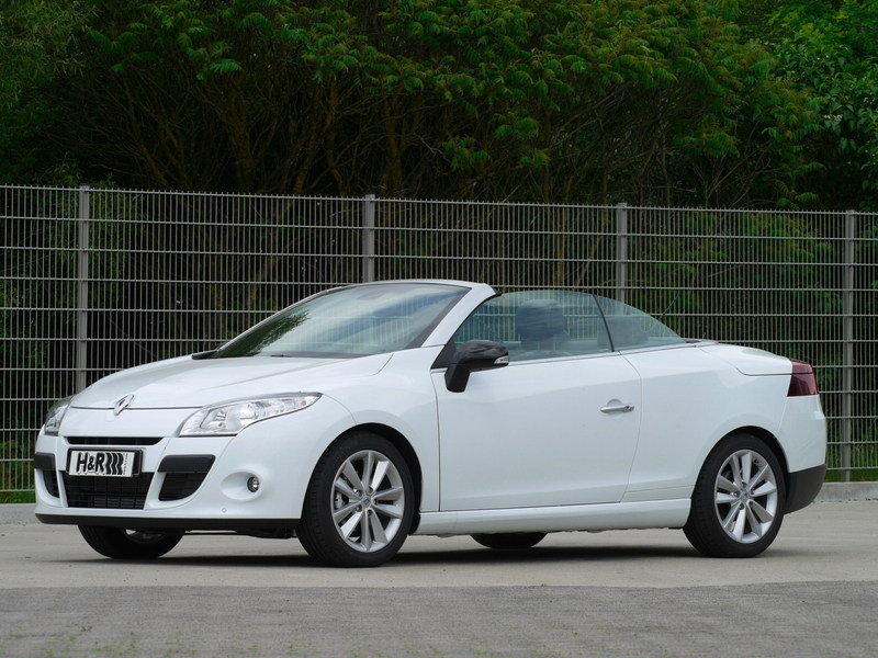 2010 Renault Megane Coupe-Cabrio by H&R