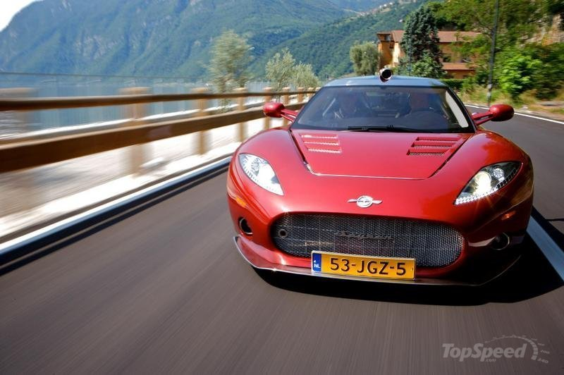 Spyker looking at increasing production of C8 Aileron