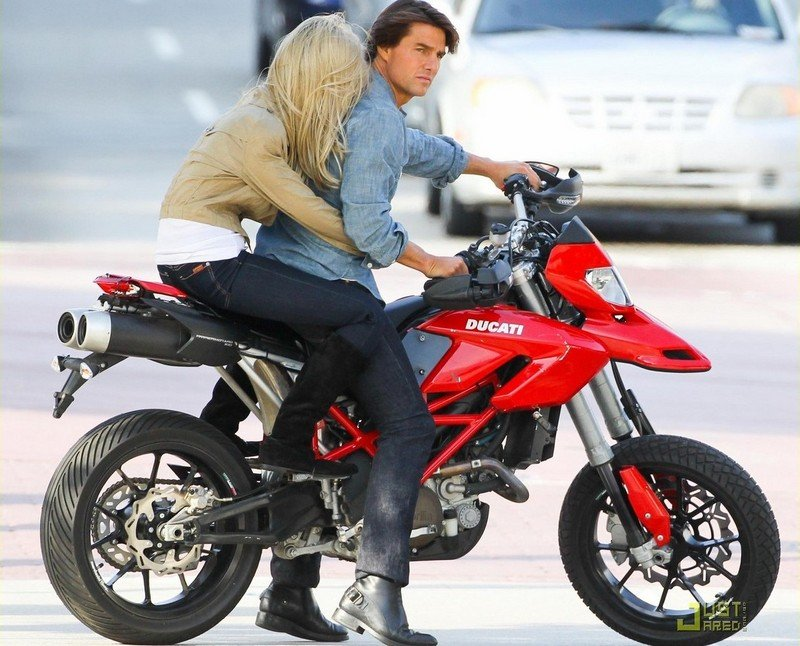 Tom Cruise's 'Knight and Day' Ducati spied