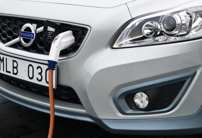 Volvo C30 Electric ready for delivery