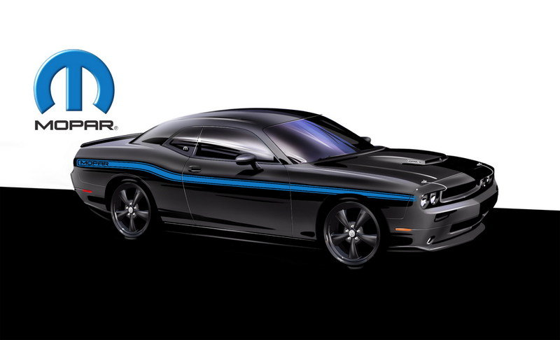 2010 Dodge Mopar Challenger High Resolution Exterior Computer Renderings and Photoshop - image 368528