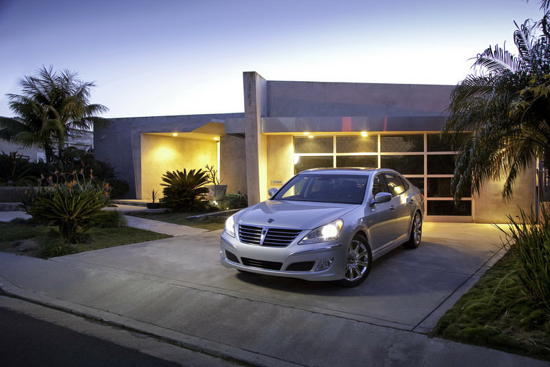 2011 Hyundai Equus - U.S. Version