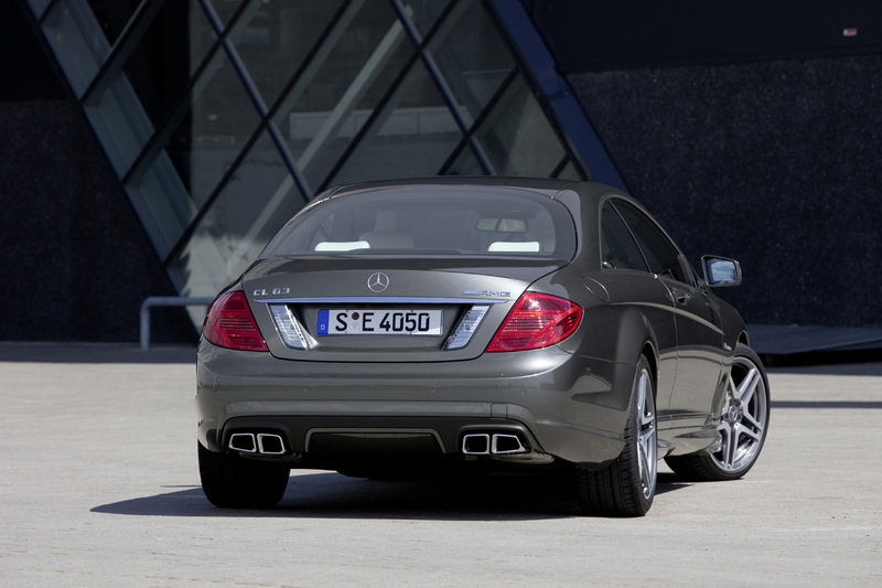 2011 Mercedes CL63 AMG and CL65 AMG