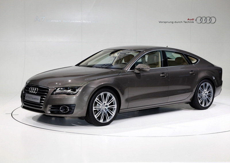 Audi A7 Revealed In Germany