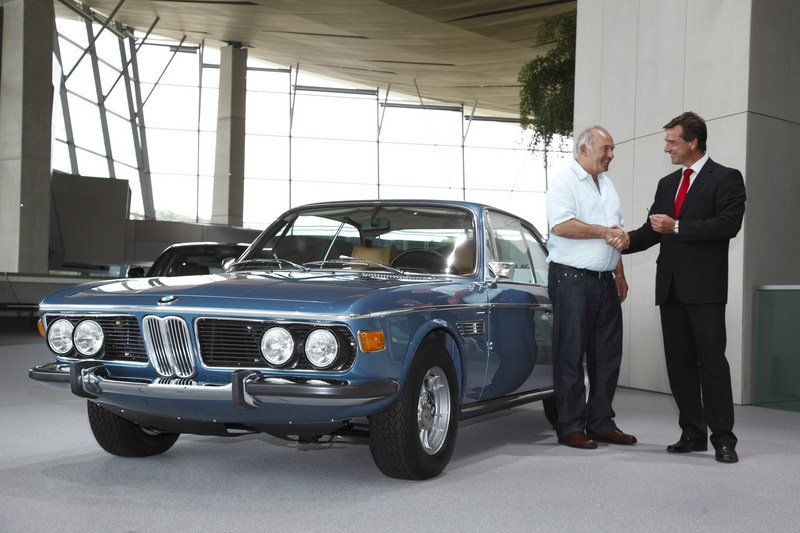 1972 BMW 3.0 CSi High Resolution Exterior - image 369684