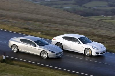 Four-Door European Saloons: Aston Martin Rapide vs. Porsche Panamera