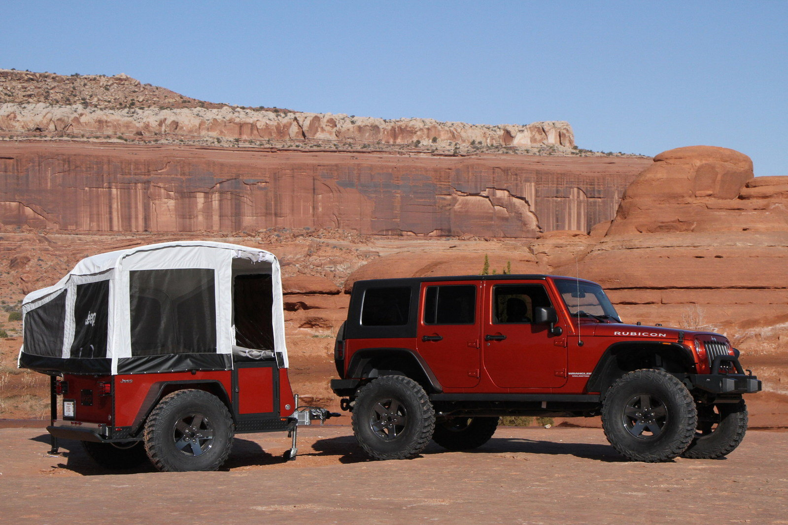 Jeep Off-road Camper Trailers From Mopar - Picture 369709 ...