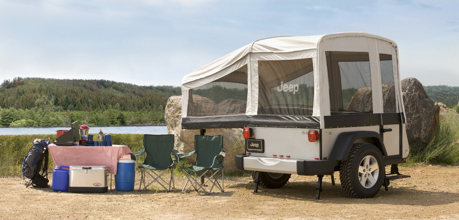 Jeep Off-road Camper Trailers From Mopar