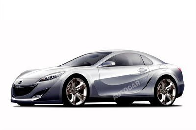 Mazda prepares turbocharged successor for RX-7
