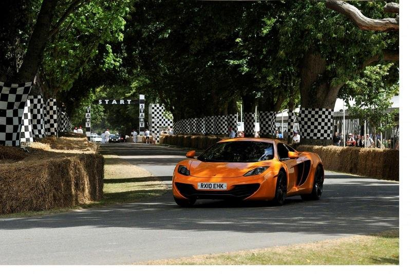 McLaren MP4-12C makes public debut at the Goodwood Festival of Speed
