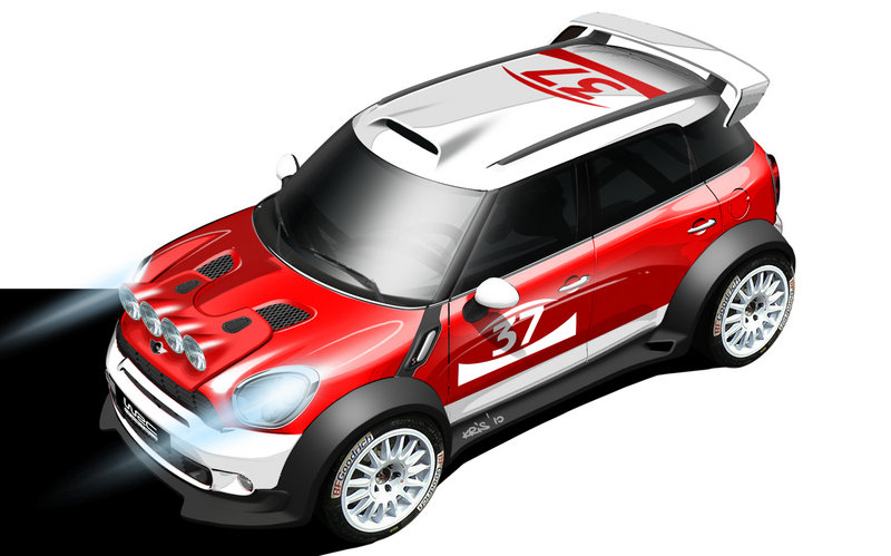 Mini Countryman will enter World Rally Championship in 2011