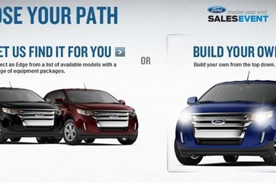 New configurators are up for 2011 Ford Edge and 2011 Lincoln MKX