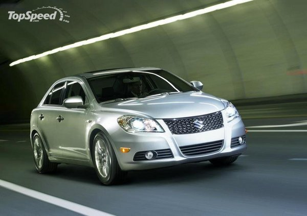 newly-released suzuki kizashi already being recalled over inopportune opening of glovebox picture