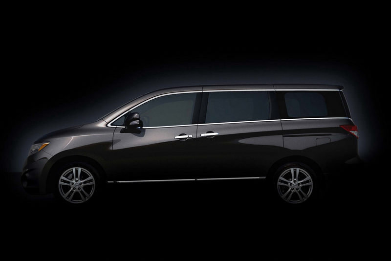 Nissan releases photos of the next-generation Quest minivan