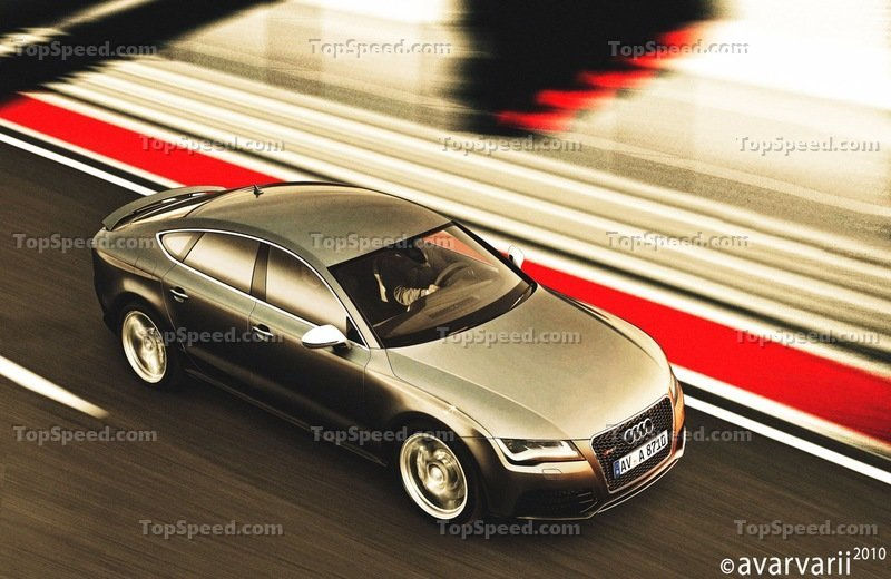 Preview: Audi RS7 Rendering