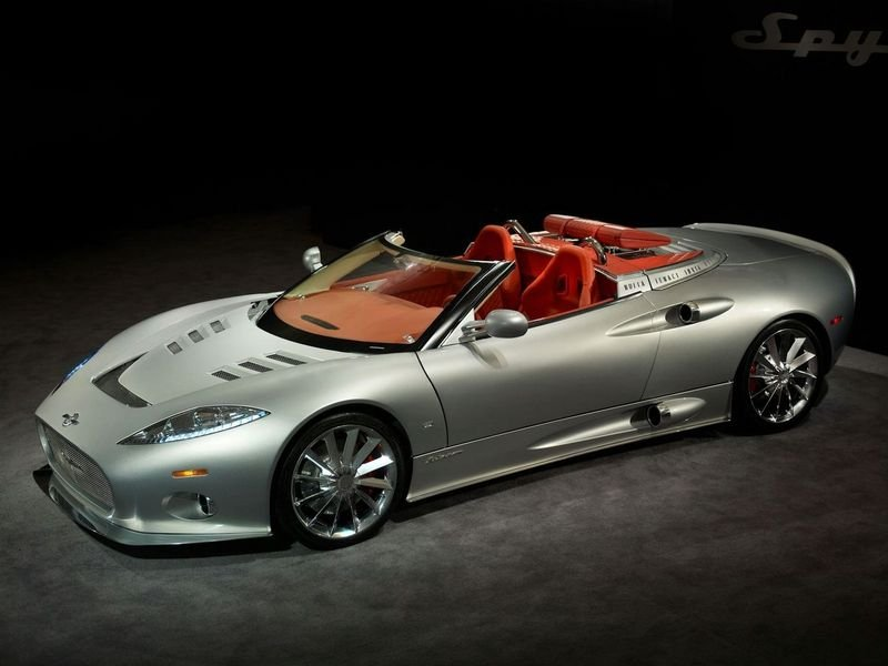 Spyker works on C8 Spyder GT2 for China