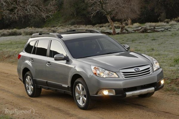 subaru issues another recall for the 2010 outback and the 2010 legacy due to wiring problems picture