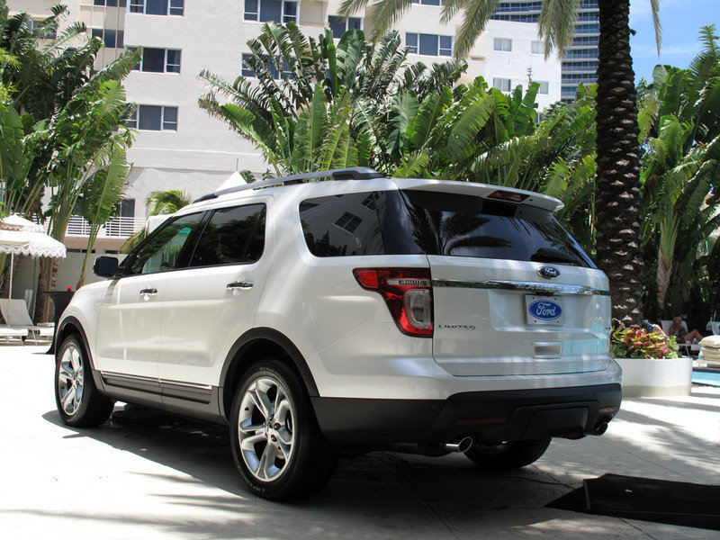 The 2011 Ford Explorer's reveal begins