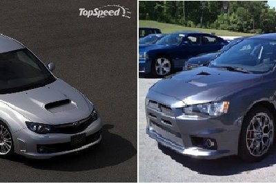 The Battle Of The Japanese Rally Cars: 2010 Subaru WRX STI vs. 2010 Mitsubishi Lancer Evolution X