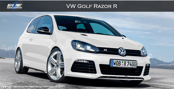 volkswagen golf razor r by revozport picture