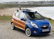 Chevrolet Spark Woody art car