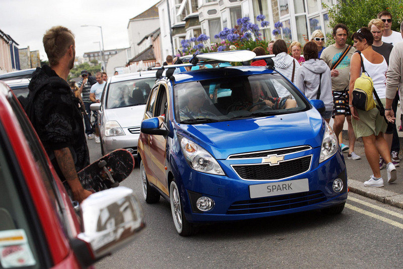 2010 Chevrolet Spark Woody art car